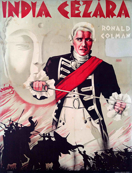 Clive of india movie poster 1935