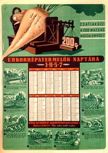 Calendar of Sugar Beet Growers