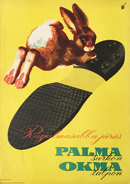 Walking is more flexible on palma heels and okma sole szilas 1950s