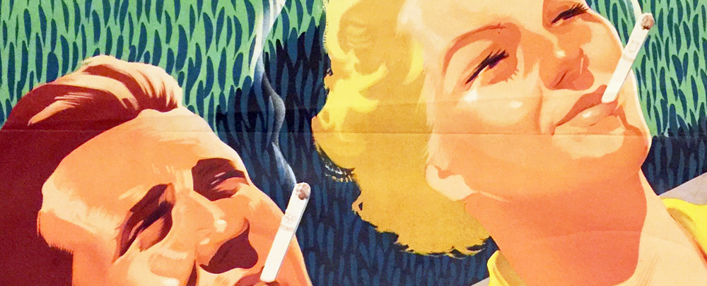 Macskássy - Fejes: More tasteful cigarette: more pleasant relaxation (detail)