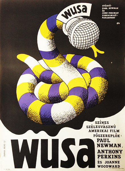 Wusa original vintage movie poster