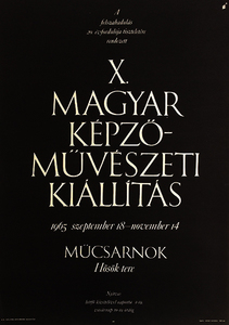 X. Hungarian Fine Arts Exhibition