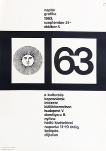 Calendar graphics exhibition 1963