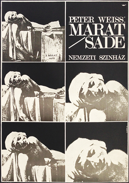 99. marat sade at the national theatre