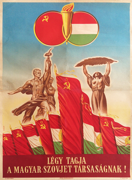 Istvan Czegledi - Be the member of the Hungarian - Soviet Association!