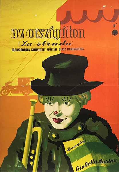 3. fellini la strada movie poster