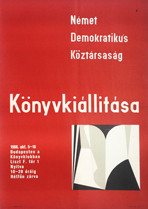 Book exhibition of the German Democratic Republic