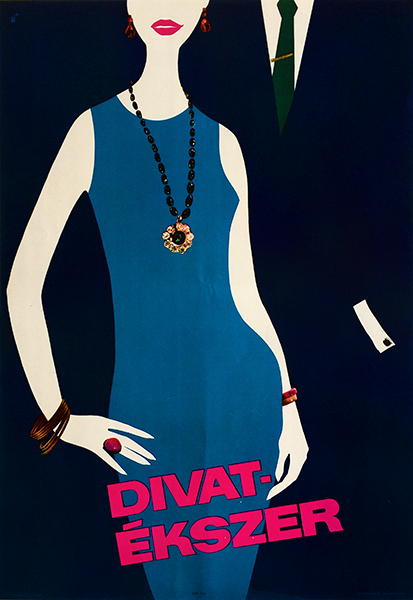 4. fashion jewelry vintage poster 1964