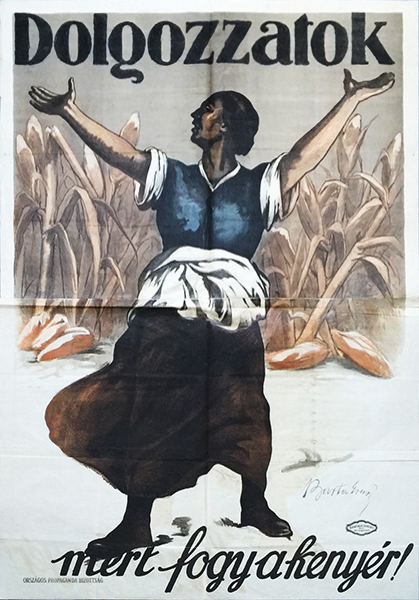 3. barta   work because we are running out of bread 1919 poster