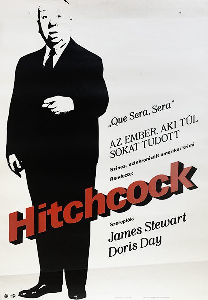 1. hitchcock man who knew too much hungarian movie poster
