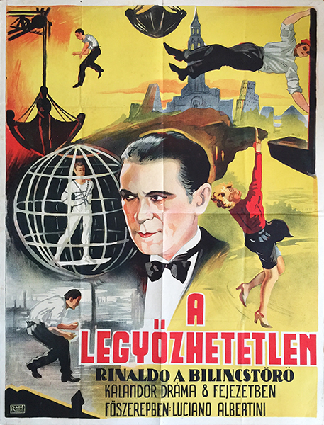 32. rinaldo rinaldini hungarian movie poster 1927