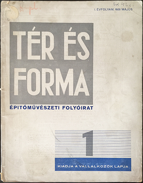 10. farkas molnar   space and form 1928 hungarian bauhaus journal