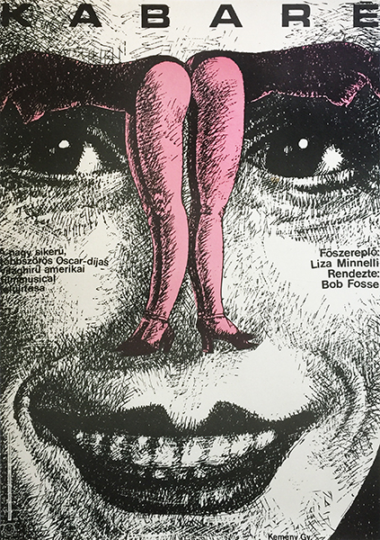 4. kemeny gyorgy cabaret liza minnelli film movie poster 1973 hungarian