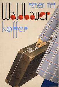 Travel with Waldbauer suitcase