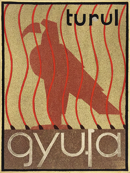 Turul matches 1930s Hungarian Modernist poster artwork