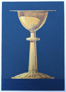 Art Deco chalice design