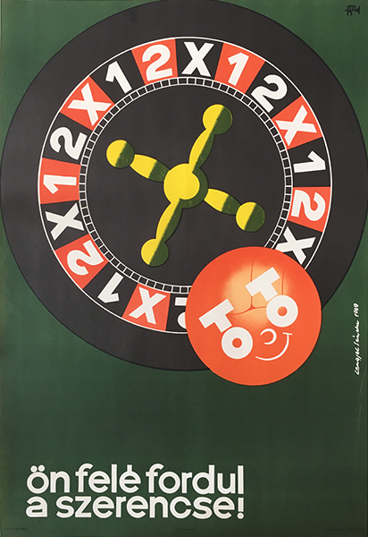 Lengyel sa%cc%81ndor   football pool luck will turn to you 1969 original hungarian poster