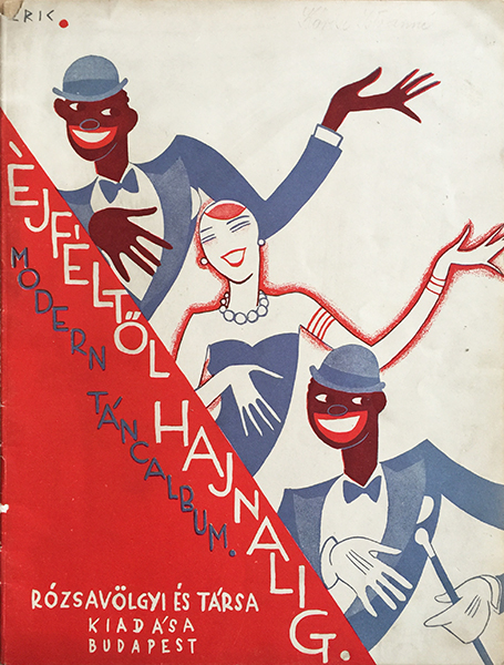 Vogel eric   from midnight until dawn modern dance song album 1928 hungarian sheet music art deco