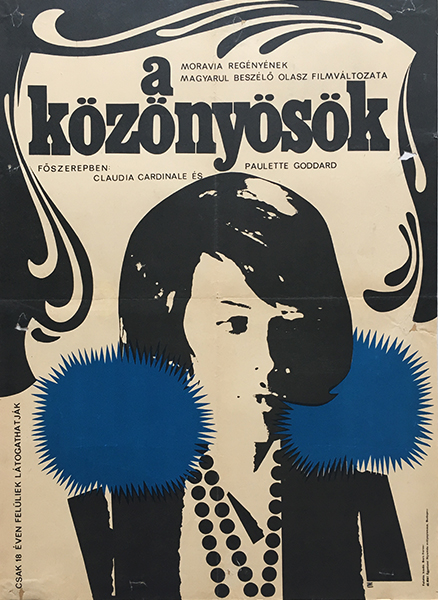 Zelena%cc%81k  crescencia   time of indifference 1965 original hungarian movie poster