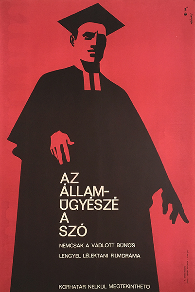 Ba%cc%81nki  la%cc%81szlo%cc%81   not only the accused one is guilty 1969 original hungarian movie poster