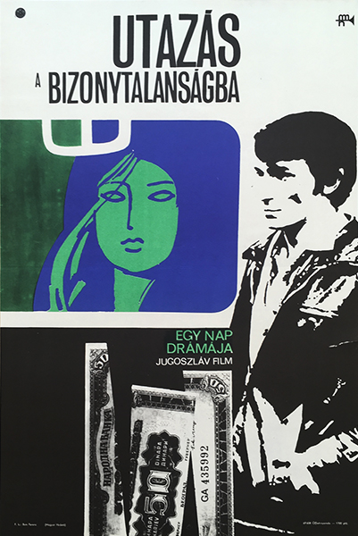 Journey to the uncertainty 1969 original hungarian vintage movie poster