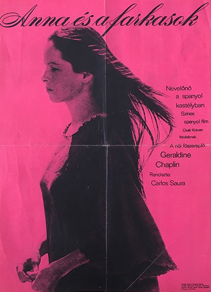 Anna and the wolves 1974 original hungarian vintage movie poster