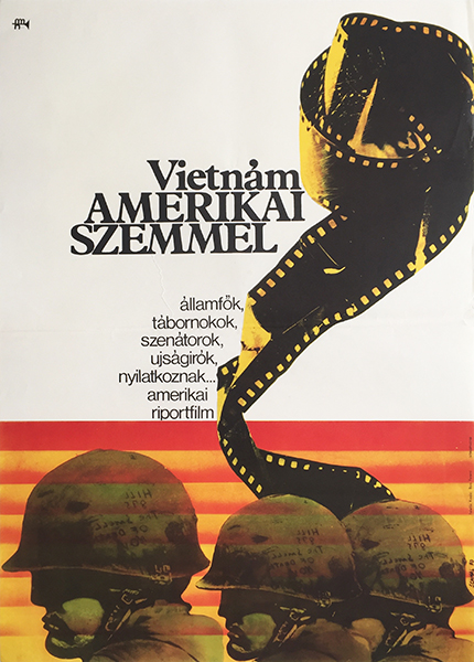 Karoly schmal   in the year of the pig 1970 hungarian us vietnam war movie poster