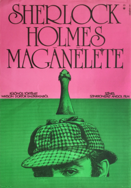 19. gyorgy kemeny   private life of sherlock holmes british us film 1973 hungarian vintage movie poster