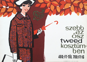 Autumn is more beautiful in tweed women's suits