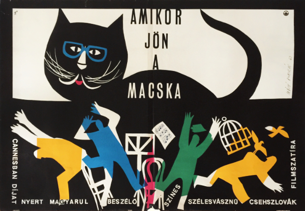When the Cat Comes | Budapest Poster Gallery