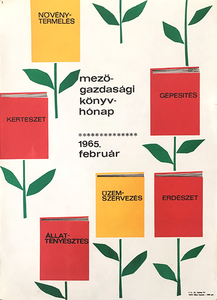 Agricultural Book Month 1965 February
