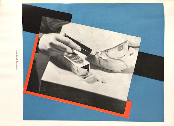Jozsef Pecsi photomontage - Hungarian Graphic Design 1930 XI. 1-2. Hungarian Avant-garde advertising magazine