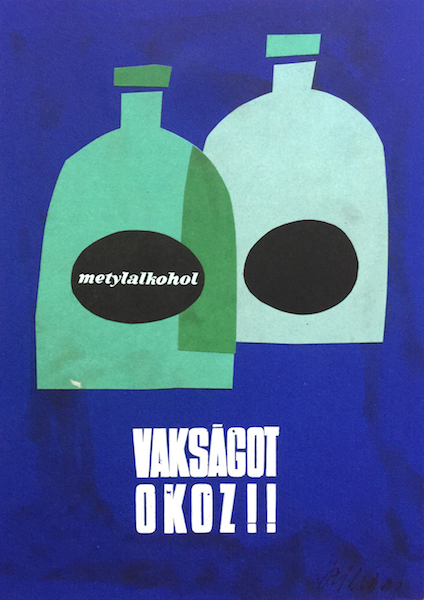 Methanol Causes Blindness Budapest Poster Gallery