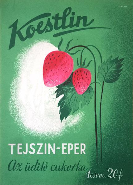 Koestlin cream strawberry - The refreshing candy   Budapest Poster