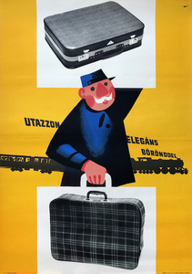 Travel with an elegant suitcase