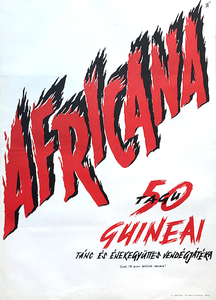 Africana - 50-member Guinean dance and singing group