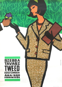 Spring is more beautiful in tweed women's suits