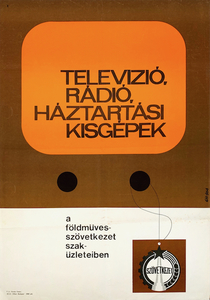 Television, radio, home appliances at the stores of the Agricultural Cooperative
