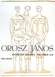 Exhibition of painter Janos Orosz at Ernst Museum
