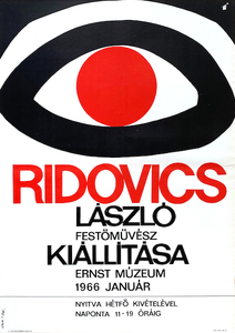 Exhibition of painter Laszlo Ridovics