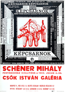 Exhibition of painter Mihaly Schener - Kepcsarnok