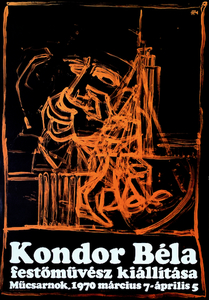 Bela Kondor Painter's Exhibition at the Kunsthalle
