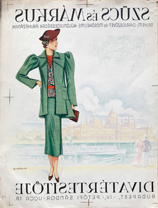 Szucs and Markus Fashion Bulletin 1936