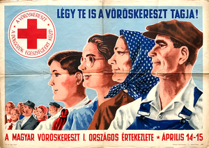 Become a member of the Red Cross! - The 1st National Meeting of the Hungarian Red Cross, 14-15 April
